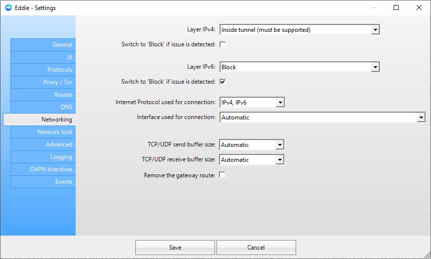 Missing vpn plugin
