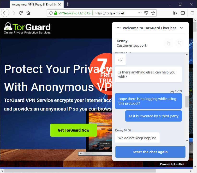 TorGuard Review - VPNCrew