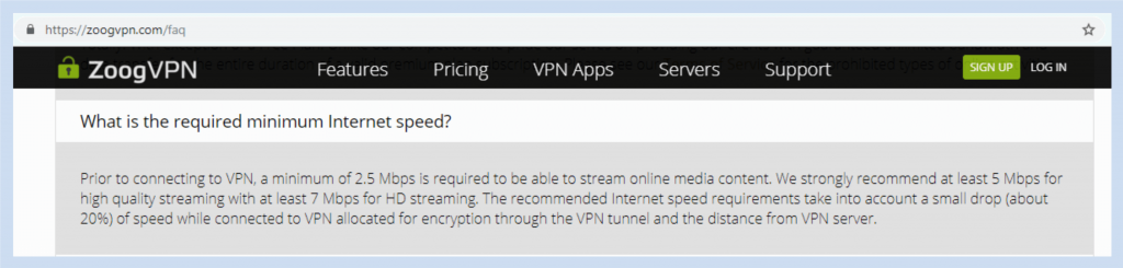 Zoog VPN Review - VPNCrew