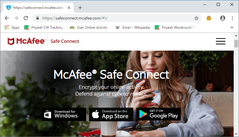 McAfee Safe Connect Review - VPNCrew