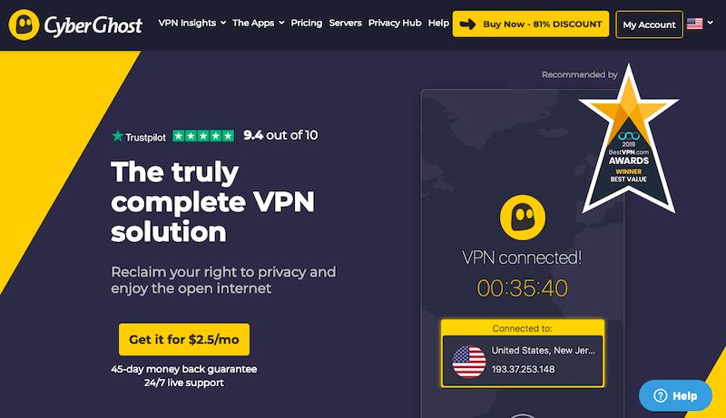 Top Five VPN for Japan - VPNCrew
